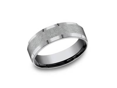 Cropped product listing tantalum wedding band