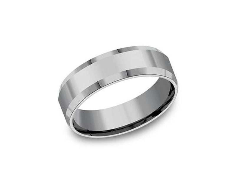 Cropped product page tungsten wedding band