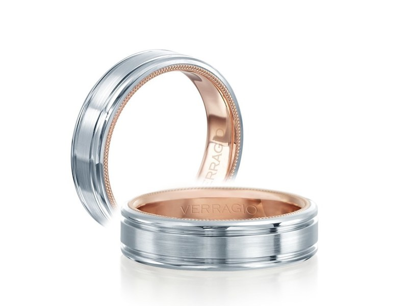 Cropped product page rose inlay wedding band
