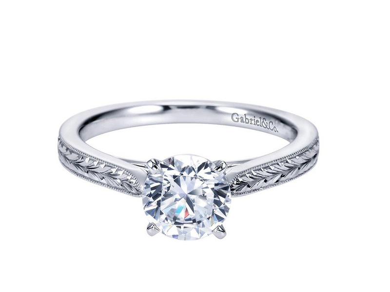 Cropped product page vintage inspired solitaire engagement ring