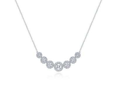 Cropped product listing diamond necklace