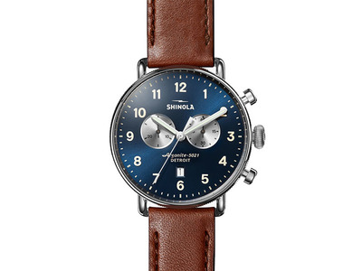 Cropped product listing the canfield chrono 43mm