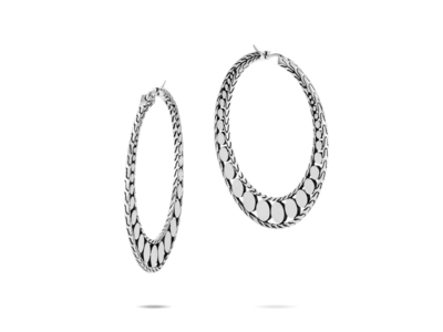 Cropped product listing dot small hoop earrings