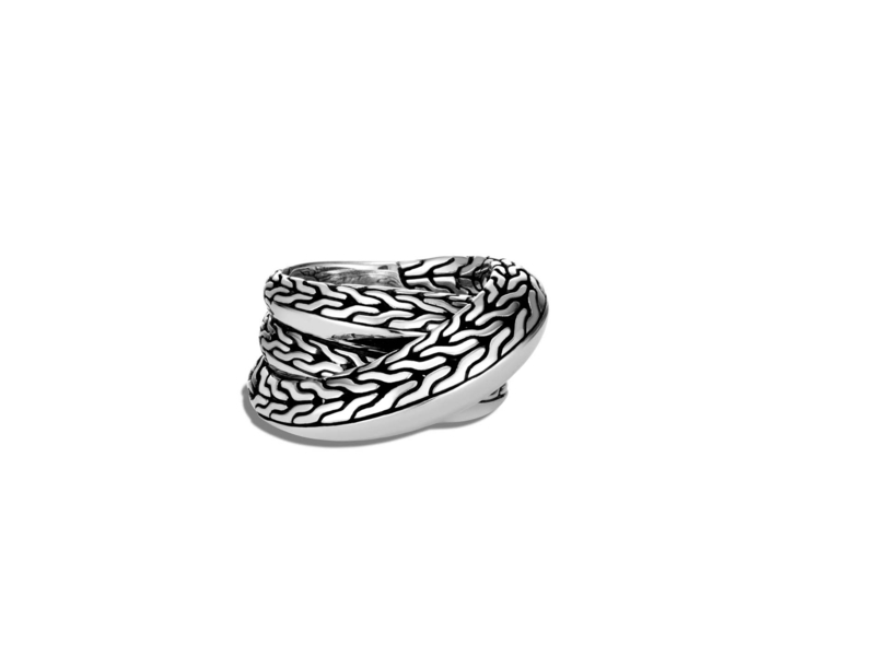 Cropped product page classic chain knife edge overlap ring