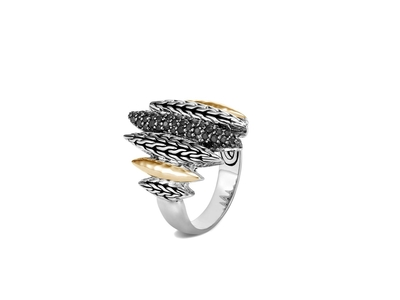 Cropped product listing classic chain spear ring