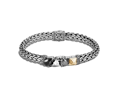 Cropped product listing classic chain station bracelet