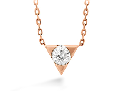 Cropped product listing triplicity single diamond pendant