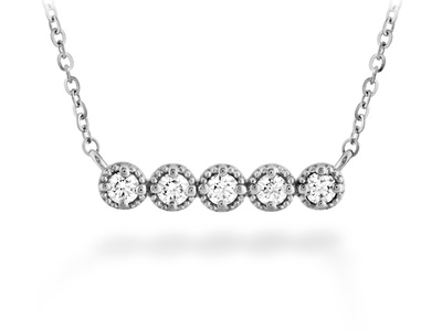 Cropped product listing liliana milgrain diamond bar necklace