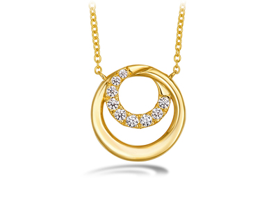 Cropped product listing optima circle pendant