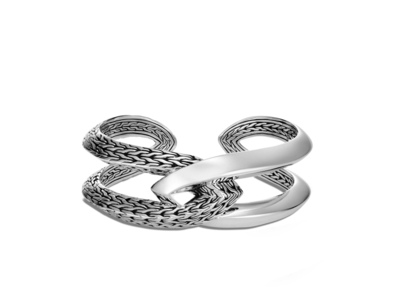 Cropped product listing classic chain knife edge kick cuff
