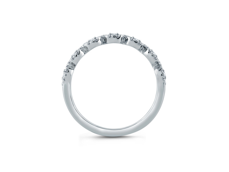 Cropped product page round halo half circle anniversary band