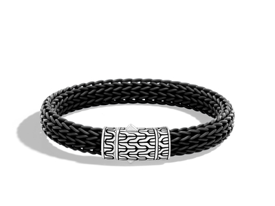 Cropped product listing men s classic chain station bracelet