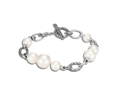 Cropped product listing classic chain bracelet bracelet freshwater pearl