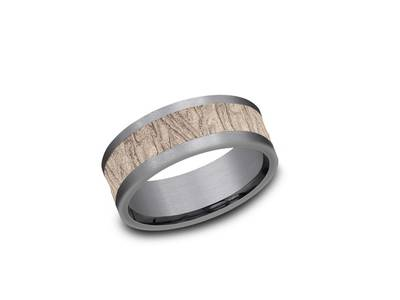 Cropped product listing ammara stone fabric flow wedding band