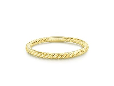 Cropped product listing twisted rope stackable ring
