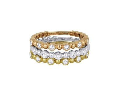 Cropped product listing triple stack ring