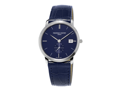 Cropped product listing slimline small seconds watch