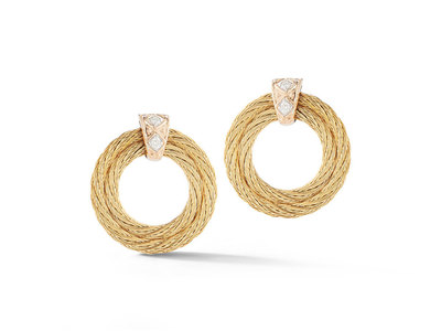 Cropped product listing wreath earrings