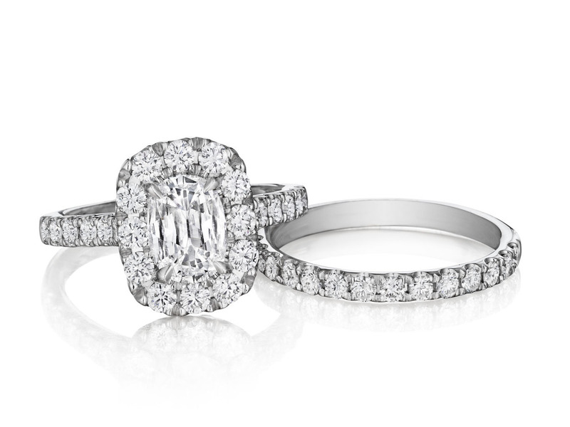 Cropped product page cushion cut engagement ring