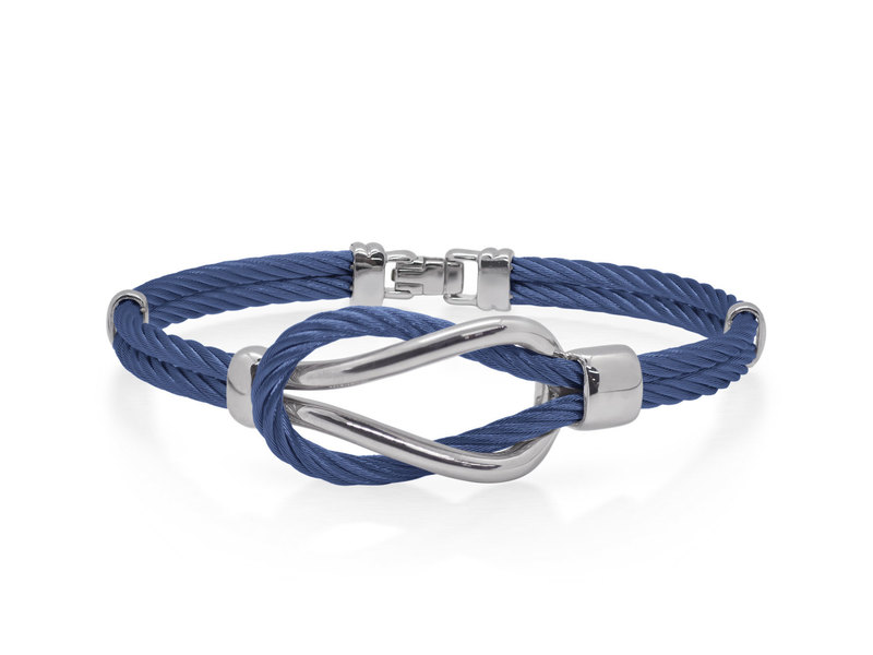 Cropped product page men s cable square knot bracelet