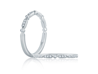 Cropped product listing diamond stackable band