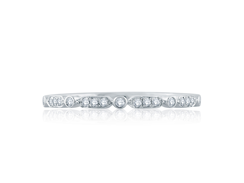 Cropped product page diamond stackable band