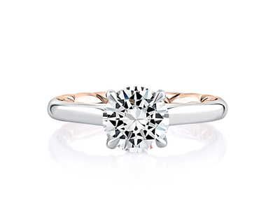 Cropped product listing baroness round solitaire diamond engagement ring