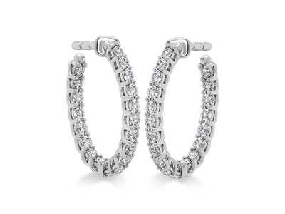 Cropped product listing signature oval hoops