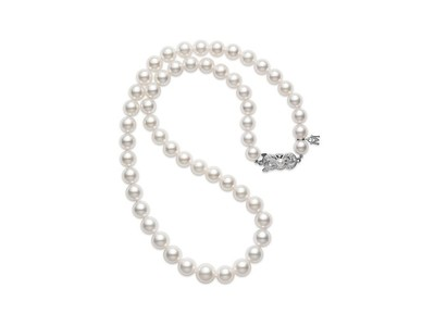 Cropped product listing 18 akoya cultured pearl graduated strand