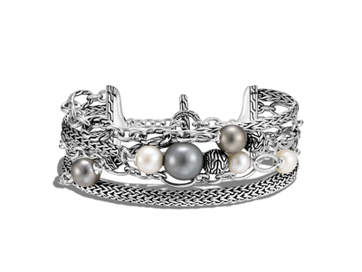 Cropped product listing multi row freshwater and tahitian pearl bracelet