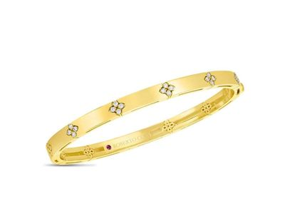 Cropped product listing love in verona yellow gold diamond bangle