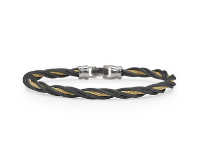 Cropped product listing modern twist bracelet