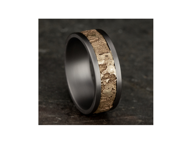 Cropped product page grey tantalum wedding band