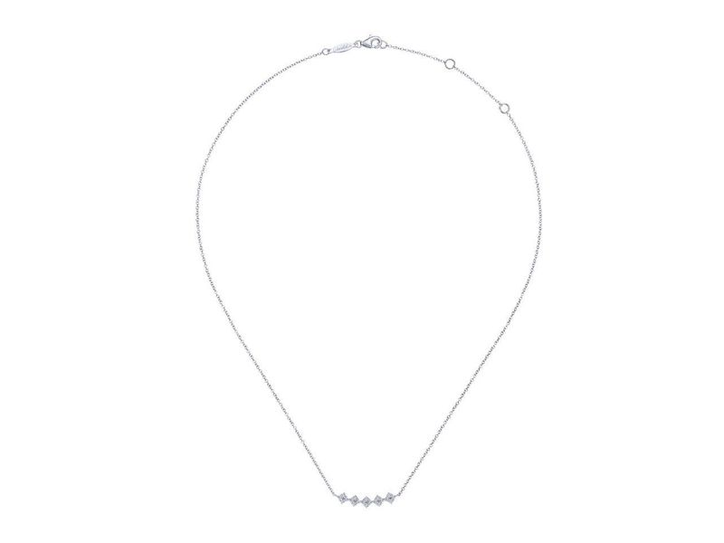 Cropped product page square station diamond pave curved bar necklace