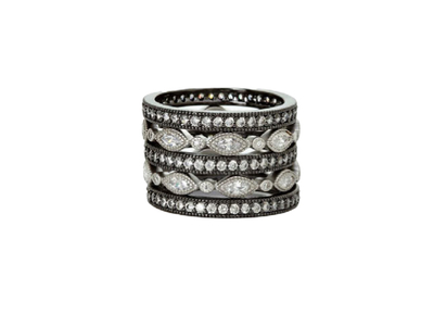 Cropped product listing the everyday 5 stack ring