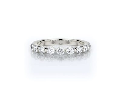 Cropped product listing diamond band