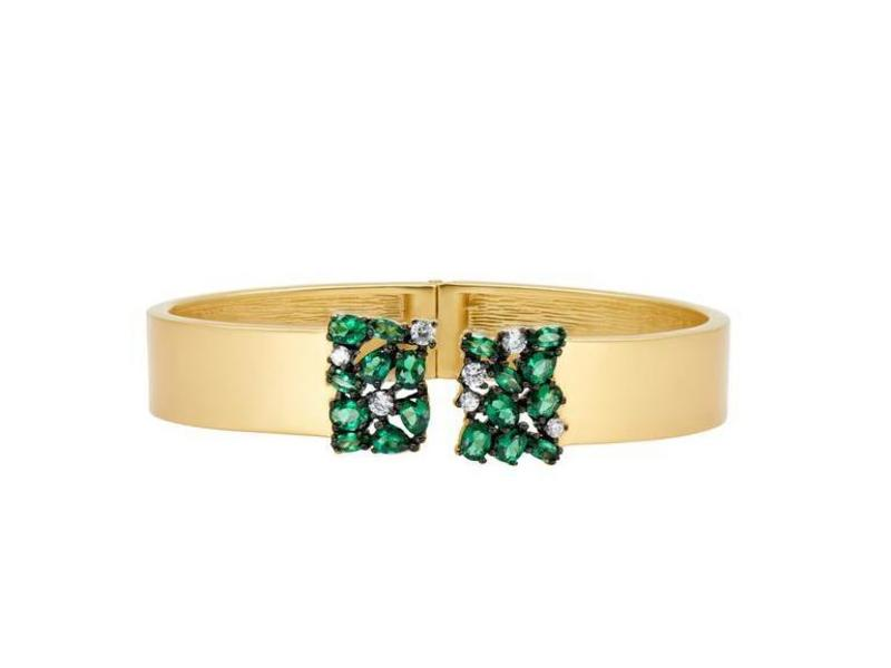 Cropped product page midnight emerald cluster cuff