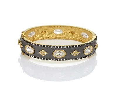 Cropped product listing oh so gorgeous wide hinge bangle