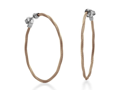 Cropped product listing carnation cable 1 5 hoop earrings with 18kt white gold