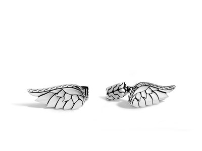 Cropped product listing eagle wing cufflinks