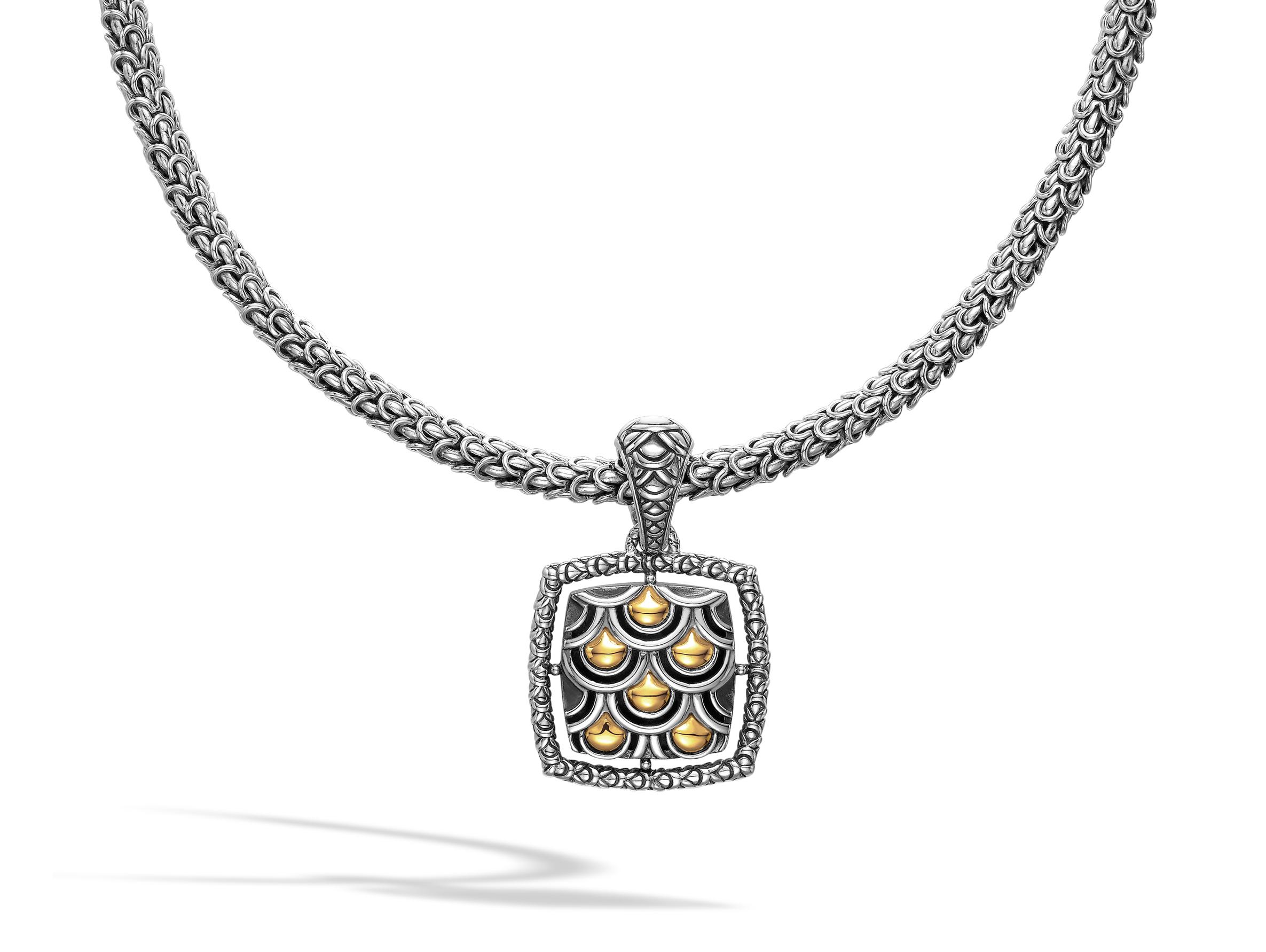 John hardy naga medium square pendant murphy jewelers aloadofball Image collections