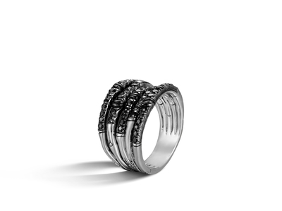 Cropped product listing bamboo wide ring