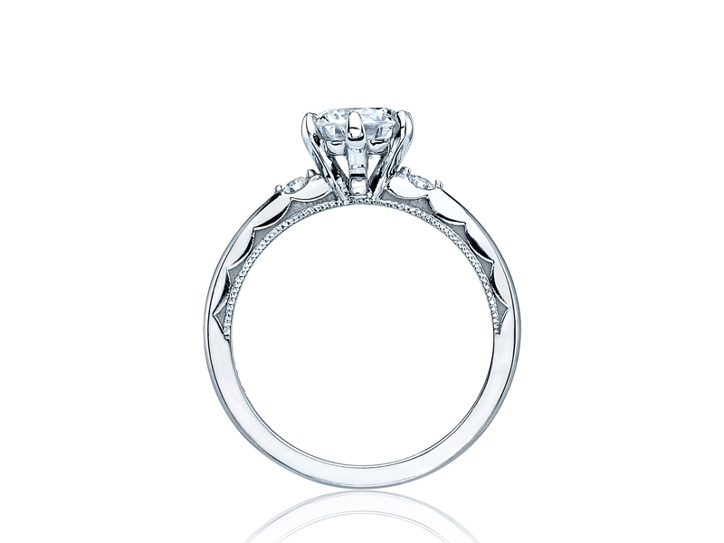 Cropped product page sculpted crescent engagement ring